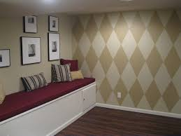 diamond wall paint designs