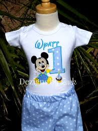 mickey mouse 1st birthday boy mickey mouse baby 1st birthday boys shirt