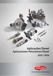 catalogo diesel delphi 2015 2016