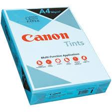 canon coloured paper aqua blue a4 ream officemax mybusiness