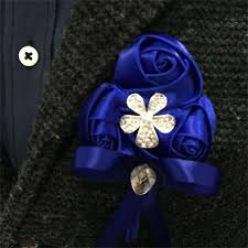 royal blue boutonniere aliexpress buy royal blue silk flower wrist corsage