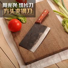 Kitchen Cutting Knives Free Shipping Zgx Forged Chef Chop And Cut Dual Use Knife Kitchen