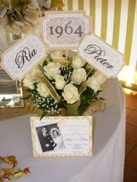 best 25 50th anniversary centerpieces ideas on pinterest 50