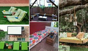Cheap Backyard Patio Ideas 26 Awesome Outside Seating Ideas You Can Make With Recycled Items