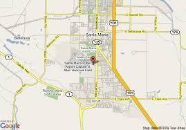 santa california map map of radisson hotel santa santa