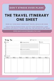 Business Travel Expenses Template Best 25 Travel Itinerary Template Ideas On Pinterest Travel