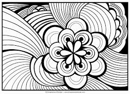 sumptuous design inspiration abstract coloring pages for adults to