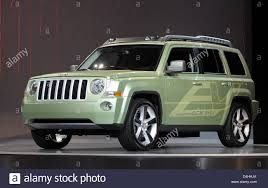 electric jeep the electric car concept jeep patriot ev seen on display at the