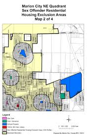 city housing exclusion maps the city of marion ohio