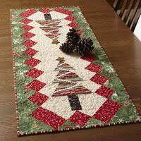 table tinsel free table runner quilt pattern the quilting company