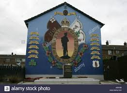 36th ulster division uvf loyalist wall mural and remembrance 36th ulster division uvf loyalist wall mural and remembrance garden tigers bay belfast county antrim northern