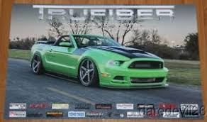 mustang stingray 2014 2014 trufiber ford mustang chevy corvette stingray sema promo