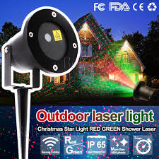 laser fairy light projection projector christmas outdoor landscape