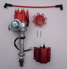 chevy small big block ready to run red small cap hei distributor