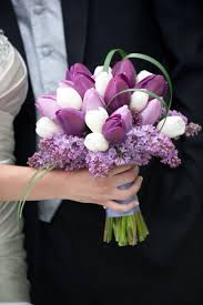 Tulip Bouquets Image Result For Tulip Bouquet Wedding Purple Bouquets