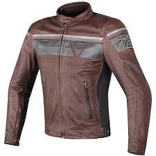 perforated leather motorcycle jacket leather motorcycle jacket dainese model blackjack dark brown