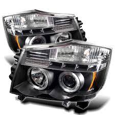 nissan titan fog lights amazon com spyder auto nissan titan nissan armada black halogen