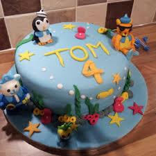 octonauts 4th birthday cake british bake