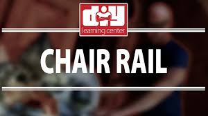 how to install chair rail youtube