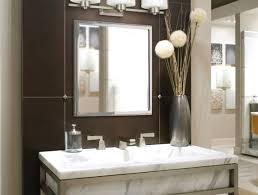 Glamorous Bathroom Lighting Bathroom Appealing Bathroom Mirrors With Lights Above