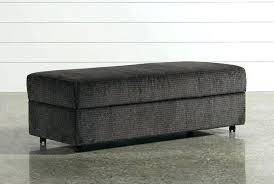 large ottoman storage bench cfee large tufted storage bench