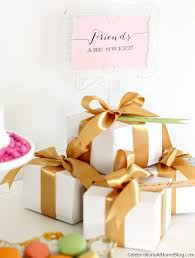 bridal luncheon gifts bridesmaid luncheon with menu recipes mod meets vintage style
