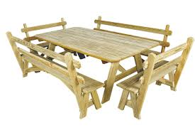 outdoor wooden tables king tables