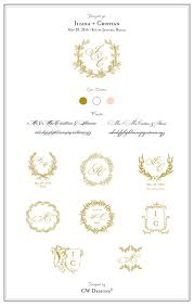 monogram wedding invitations custom crest monogram wedding logo wedding monogram wedding
