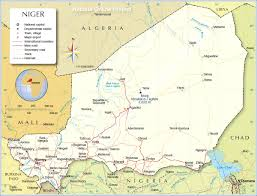 Map Of The Southern United States by Political Map Of Niger Nations Online Project