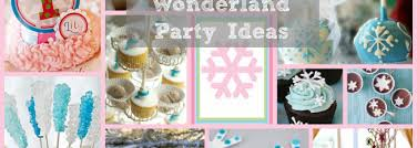 winter wonderland party ideas party on purpose