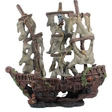origins mystery pirate ship large ornament