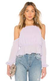 bebe blouse bebe blouse in pastel lilac