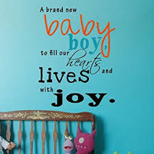 amazon com popdecors a brand new baby boy inspirational