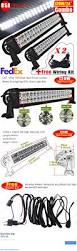 Led Light Bar Parts by Motors Parts And Accessories 2x 120w 24 Spot Flood Combo Led