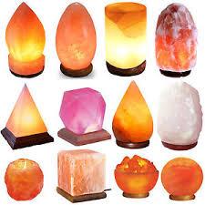 himalayan light salt crystal l himalayan pink salt l natural rock salt l bulb plug include