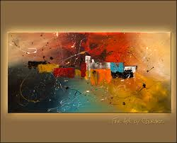 abstract art paintings celebration interior design art paintings