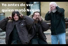Memes The Walking Dead - de muerte los memes del inicio de la temporada 7 de the walking