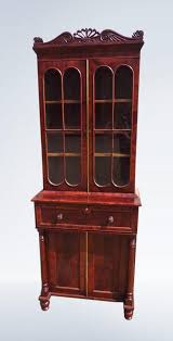 Narrow Mahogany Bookcase Small Narrow Regency Mahogany Bookcase