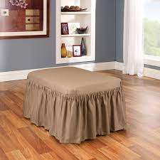 Storage Ottoman Slipcover by Furniture Oversized Ottoman Coffee Table For Stylish Living Room