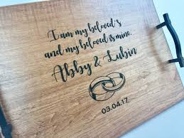 personalized serving dishes 23 best serving trays images on