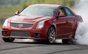 cadillac cts vs 2009 cadillac cts v road test review car and driver