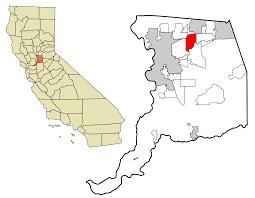 Csus Map Carmichael California Wikipedia