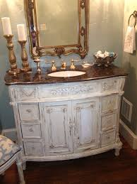 Paint Bathroom Cabinets by Annie Sloan Chalk Paint Love Having My Dark Wood Vanity Updated