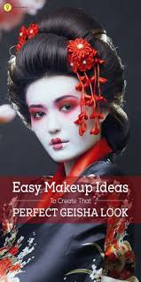 Makeup That Looks Airbrushed Playing A Geisha Airbrush Makeup Inspired By A Traditional