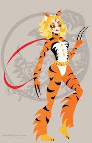 tiger warrior zodiac by remdesigns on deviantart