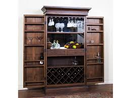 Bakers Rack With Doors Furniture Best Inspiring Rack Storage Ideas For Interesting Wine