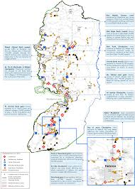 West Bank Map Movement Restrictions On West Bank Roads Tightened United