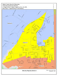 Maps Ct Election Districts Map Talbot County Md