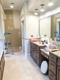 master bathroom refresh the hall way