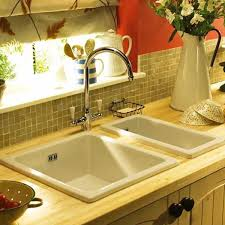 RAK Ceramics Gourmet Kitchen Sink GOSINK  Bowl White - Belfast kitchen sink